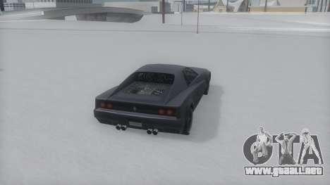 Cheetah Winter IVF para la visión correcta GTA San Andreas