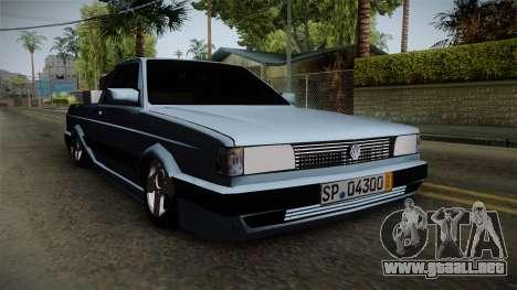 Volkswagen Saveiro 1994 para la visión correcta GTA San Andreas