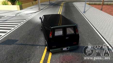 GTA V Declasse Burrito para la visión correcta GTA San Andreas