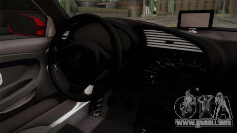 BMW 328i E36 Coupe para visión interna GTA San Andreas