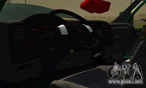 Gazelle Agricultor v2 para visión interna GTA San Andreas