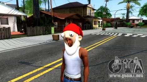 Gnome Mask From The Sims 3 para GTA San Andreas