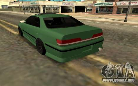 Mercedes C63 Toyota Mark 2 JZX 100 para GTA San Andreas left