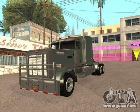 Dude Road Train para la visión correcta GTA San Andreas
