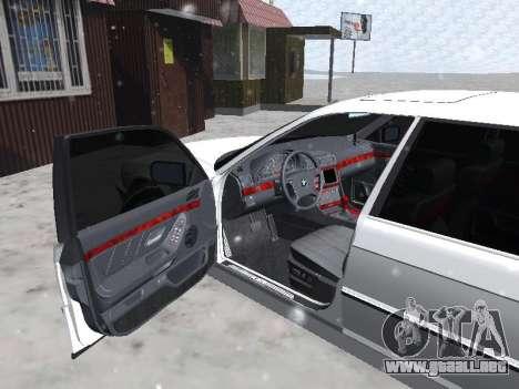 BMW 740I para la visión correcta GTA San Andreas
