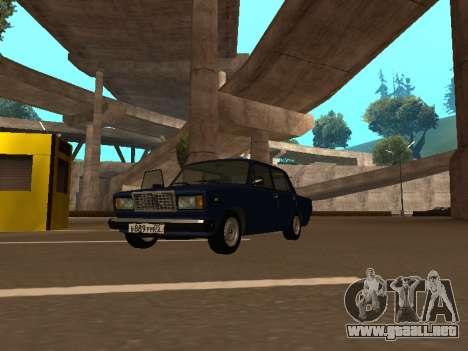 2107 (un Proyecto de la plantilla Contra Todos) para GTA San Andreas