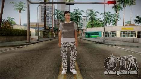 Skin Random Male 5 GTA Online para GTA San Andreas segunda pantalla