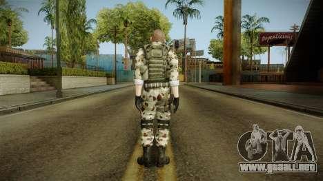 Resident Evil ORC Spec Ops v7 para GTA San Andreas tercera pantalla