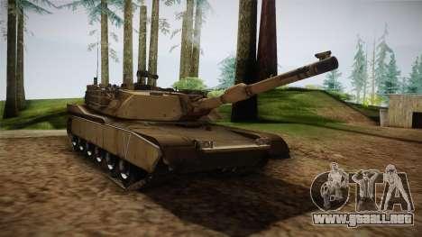 Abrams Tank para la visión correcta GTA San Andreas