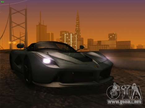 LaFerrari 2017 para GTA San Andreas left