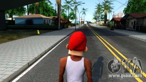 Gnome Mask From The Sims 3 para GTA San Andreas tercera pantalla