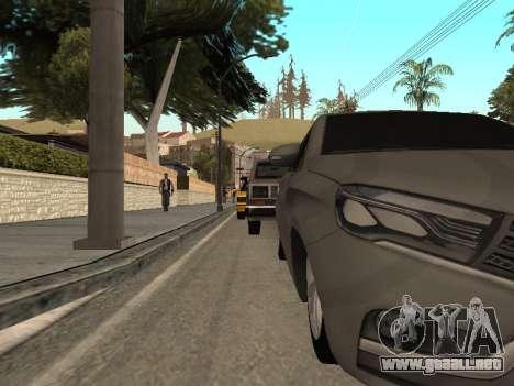 LADA Vesta BPAN para visión interna GTA San Andreas