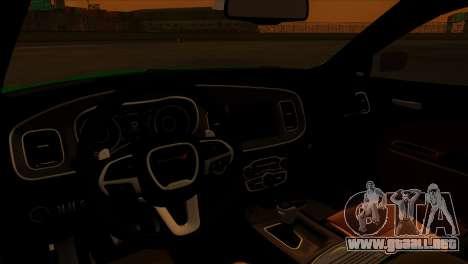 2016 Dodge Charger RT Forza Horizon 2 para la visión correcta GTA San Andreas