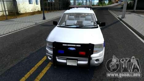 Ford Expedition SAST CVE 2008 para GTA San Andreas left