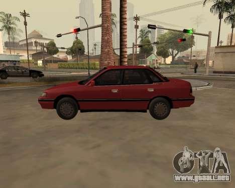 Subaru Legacy 1992 para GTA San Andreas left