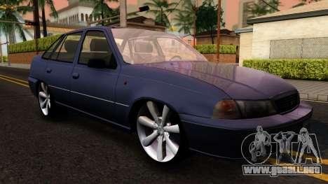 Daewoo Cielo 2001 para GTA San Andreas left