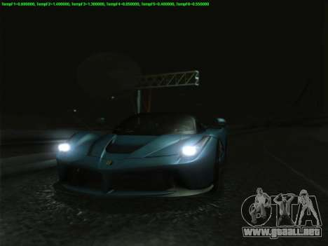 LaFerrari 2017 para la vista superior GTA San Andreas