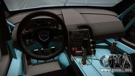Aston Martin Racing DBR9 2005 v2.0.1 para visión interna GTA San Andreas
