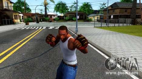 Red Bear Claws Team Fortress 2 para GTA San Andreas tercera pantalla
