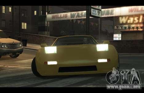 ZR 350 GTA San Andreas v1.0 para GTA 4 visión correcta