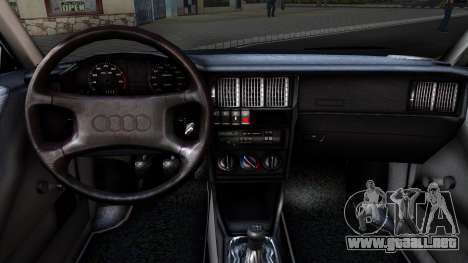 Audi 80 B3 para GTA San Andreas vista hacia atrás