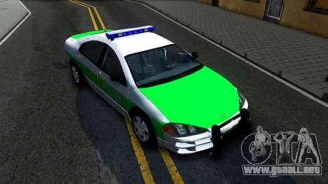 Dodge Intrepid German Police 2003 para la visión correcta GTA San Andreas