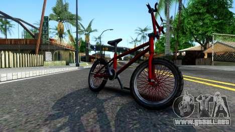 BMX Enhance para GTA San Andreas left