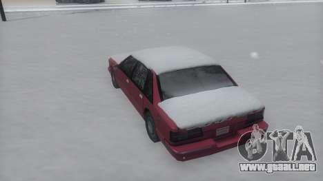 Premier Winter IVF para la visión correcta GTA San Andreas