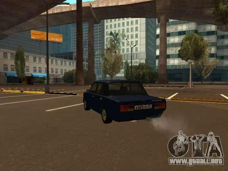 2107 (un Proyecto de la plantilla Contra Todos) para GTA San Andreas vista posterior izquierda