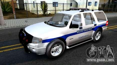 Ford Expedition SAST CVE 2008 para GTA San Andreas