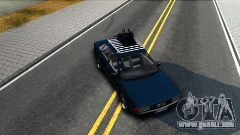 Audi 80 B3 para visión interna GTA San Andreas