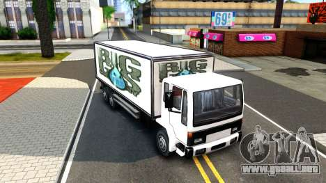 DFT-30 Box Truck para GTA San Andreas left
