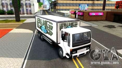 DFT-30 Box Truck para GTA San Andreas left