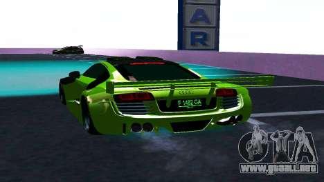 AUDI R8 LMS SPORTS para la visión correcta GTA San Andreas