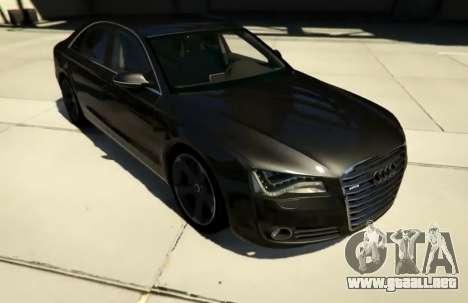 2010 Audi A8 FSI v4.0 para GTA 5