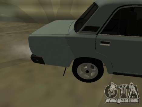2107 para la visión correcta GTA San Andreas