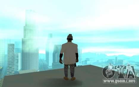 Grove Street Gang Member 2 para GTA San Andreas tercera pantalla