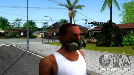 Gas Mask From S.T.A.L.K.E.R. Clear Sky para GTA San Andreas segunda pantalla