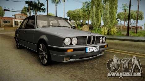 BMW M3 E30 Edit v1.0 para la visión correcta GTA San Andreas