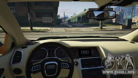 GTA 5 2009 Audi Q7 AS7 ABT vista lateral derecha
