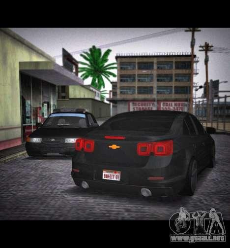 Chevrolet Malibu para GTA San Andreas left