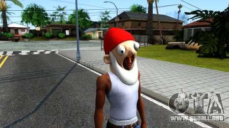 Gnome Mask From The Sims 3 para GTA San Andreas segunda pantalla