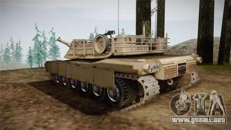 Abrams Tank para GTA San Andreas left