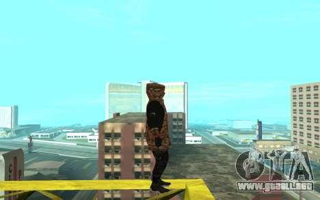 Grove Street Gang para GTA San Andreas segunda pantalla