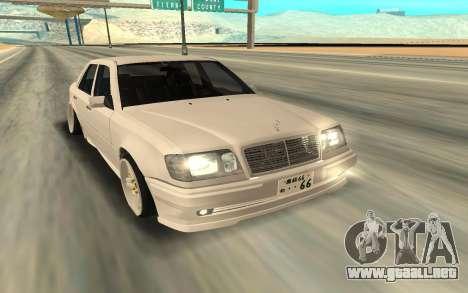Mercedes-Benz 200 para GTA San Andreas