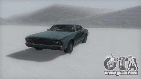 Sabre Winter IVF para la visión correcta GTA San Andreas