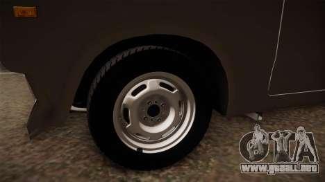 VAZ 2105 Convertible para GTA San Andreas vista hacia atrás