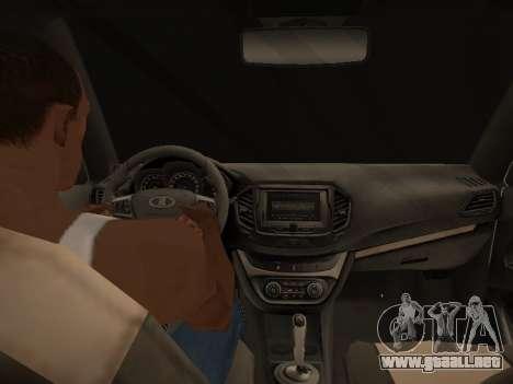 LADA Vesta BPAN para la vista superior GTA San Andreas