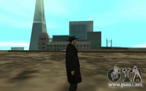 The BOSS para GTA San Andreas segunda pantalla
