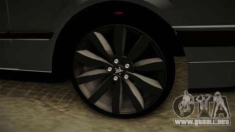 BMW M3 E30 Edit v1.0 para GTA San Andreas vista hacia atrás
